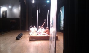 Pt Venkateshkumar at the Academy