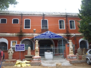Mangammal Durbar Hall, Rock Fort area, Trichy
