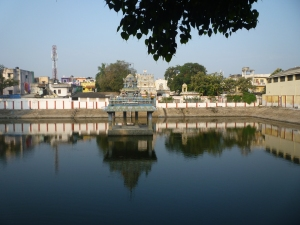 Agastyeswara temple and tank, Nungambakkam