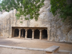 Pallava Cave, I am told it may be of Pandyan origin
