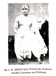 Kirtanacharya CR Srinivasa Iyengar