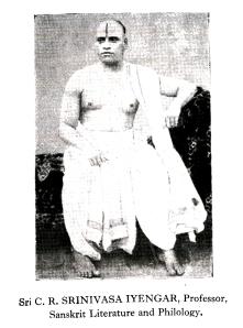 Kirtanacharya CR Srinivasa Iyengar
