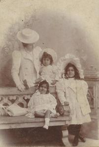 The children with their governess