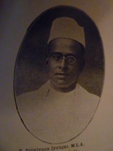 S Srinivasa Aiyangar