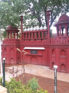 Red Fort replica, Race Course Road