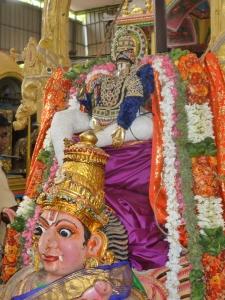 Garuda Sevai, Velleeswarar Koil, Mylapore