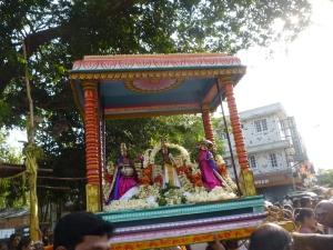 Mahabali, Shukra and Vamana, Velleeswarar Koil, Mylapore