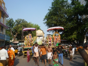 Velleeswarar procession, Mylapore