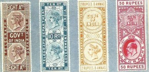 Telegraph stamps