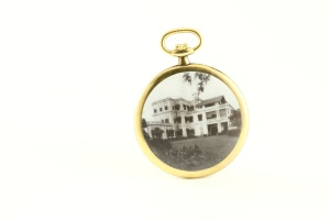 Government House, Madras on a pocket watch