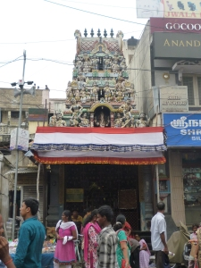 The Varasiddhi Vinayakar Temple, probably the Chintadri Pillary shrine