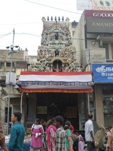 The Varasiddhi Vinayakar Temple, probably the Chintadri Pillary shrine