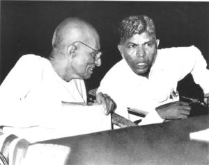 Rajaji with Dr Mathuram Santosham