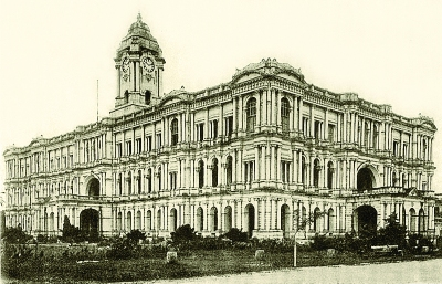Ripon Building, from A Book on South India by JC Molony