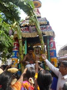 Chandikeswarar Ther, Mylapore, 2014