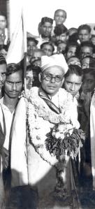 S Satyamurti campaigning