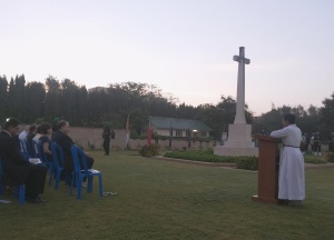 Anzac Day at the Madras War Cemetery