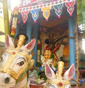 Karaneeswarar, complete with Pandian Kondai