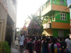 The Karaneeswarar temple procession