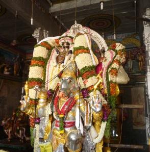 Velleeswarar on Adhikara Nandi
