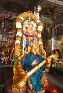 Goddess Kamakshi, Velleeswarar Temple