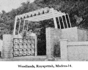 Woodlands Hotel, Royapettah