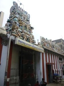 The Kamakala Kameswarar Temple, Triplicane