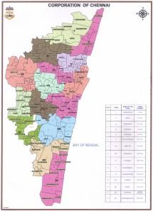 Current Chennai Map