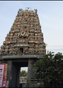 The Gangadhishwarar Temple, Purasawalkam