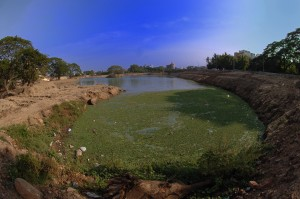 Why can waterbodies such as the Spur Tank not be harnessed for water conservation?
