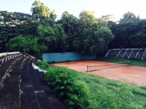 The Egmore Tennis Stadium
