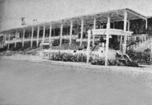 The stands of the Guindy Racecourse