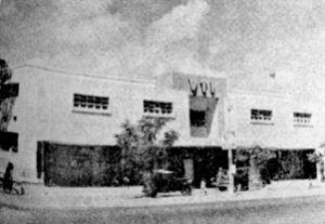 The Victoria Technical Institute showroom, Mount Road