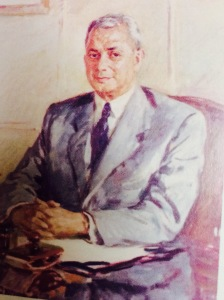 Sir Benegal Rama Rau, pic  courtesy Mint Road Milestones, the RBI at 75