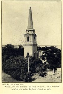 St Mary's photographed in 1936, courtesy The Madras Chamber of Commerce and Industry Centenary Volume