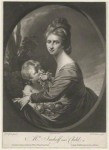 Mrs Hastings, painted when Baroness Imhoff