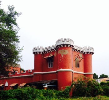 College of Fort St George's river gate