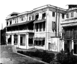 The Exchange, seen in the early 1900s