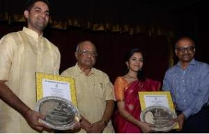 Ashwath, Charumathi, 'Kalki' Rajendran and me