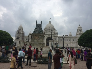 Victoria Memorial, Kolkata, as seen from the front
