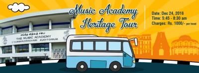 Music Academy Heritage Tour