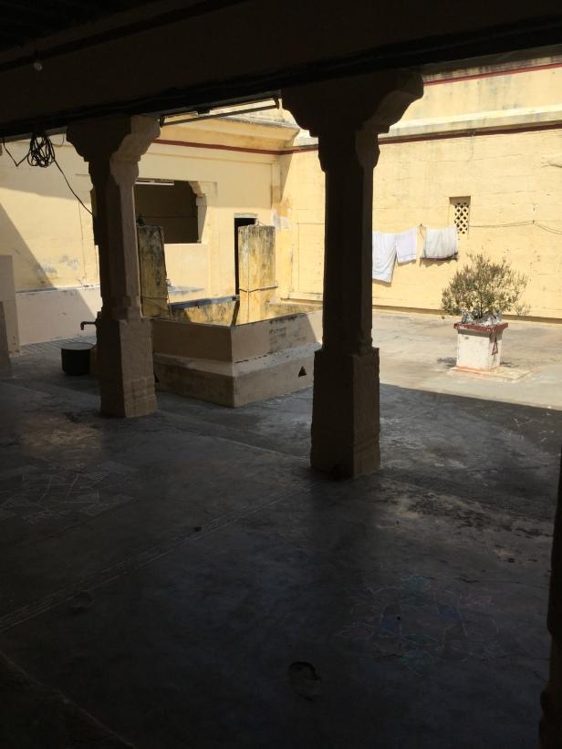 Courtyard, Upanishad Brahmam Matham