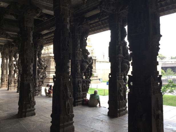 16-pillared hall, Jalakantheswarar Temple, Vellore