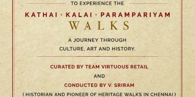 Kathai Kalai Paramparyam Walk at VR Chennai on 25/5