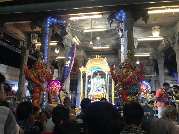 Navaratri Mandapam at Kapaliswarar Temple